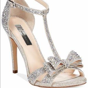 INC Reesie bow heels